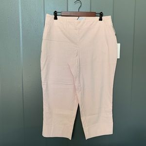 Carolina Belle Pink /White striped Capri pant